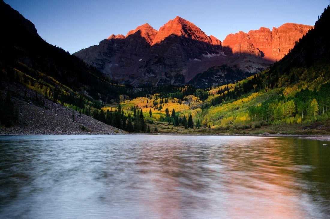 Maroon Bells, Aspen, Colorado fall colors