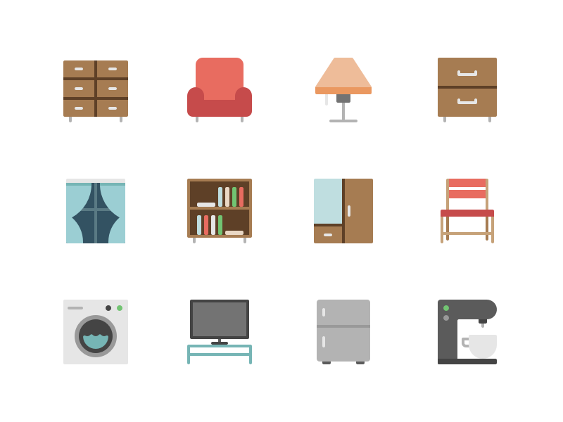 Furniture by Denis Rodchenko