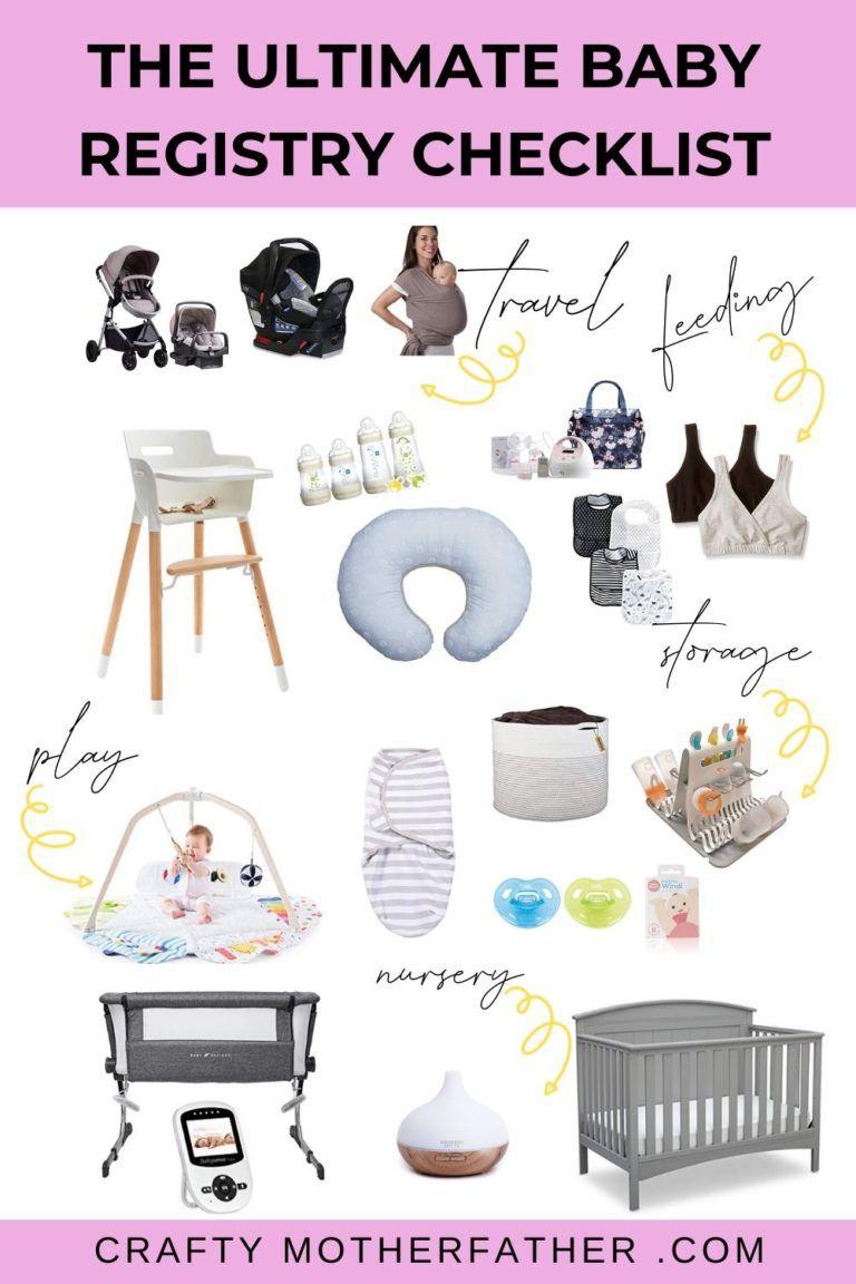 The Best Baby Registry Checklist | Best baby registry ...
