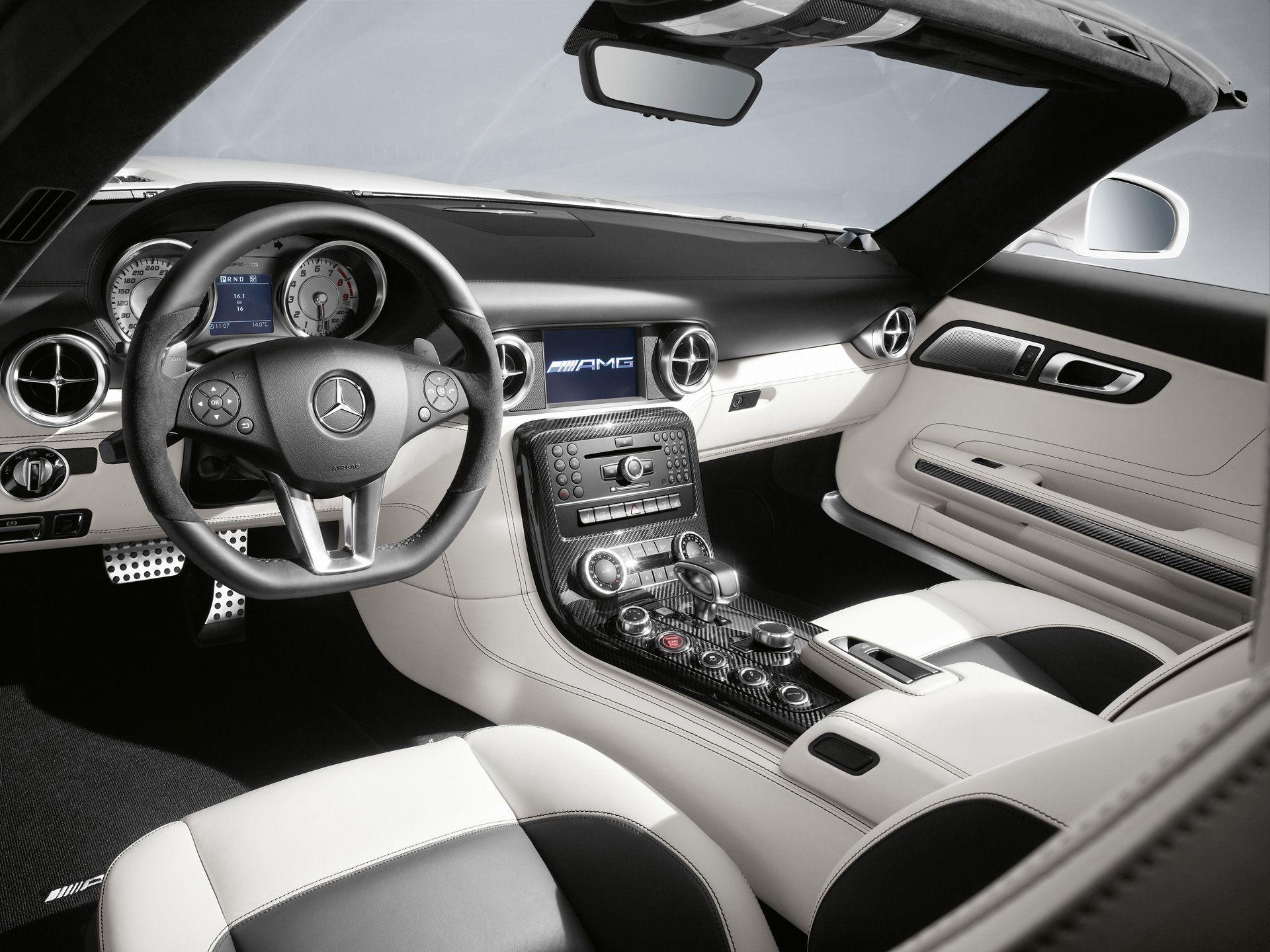 2011 Mercedes Benz Sls Amg Roadster Interior Med Bilder