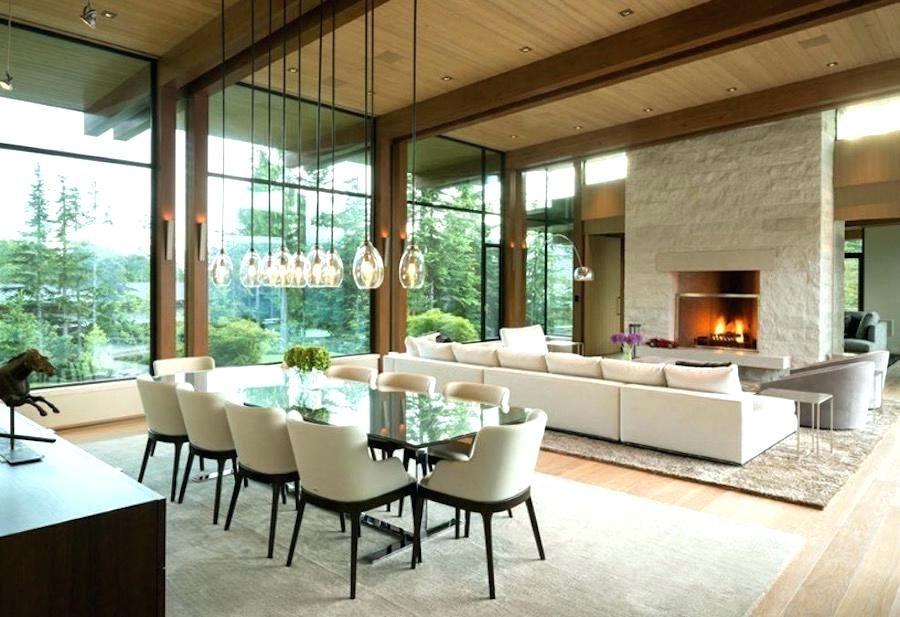modern open concept modern rustic mountain home decor home rh pinterest com  open concept modern home plans