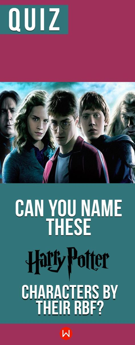 Hogwarts Quiz: Can You Name These Harry Potter Characters By