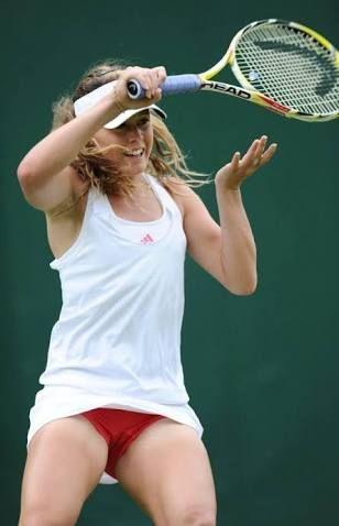 Pro tennis upskirt