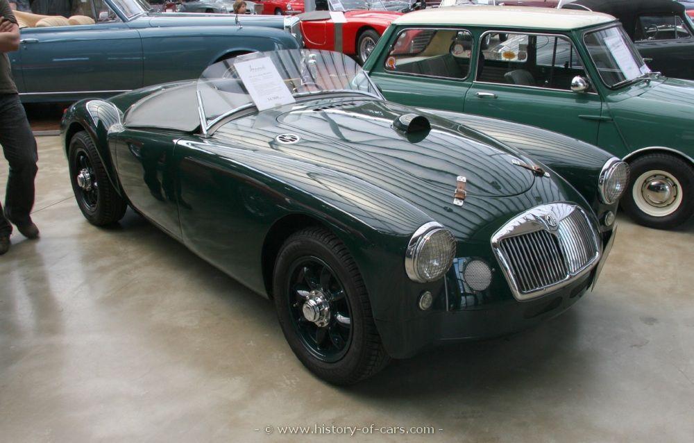 mg 1955 mga 1500 - the history of cars - exotic cars - customs ...