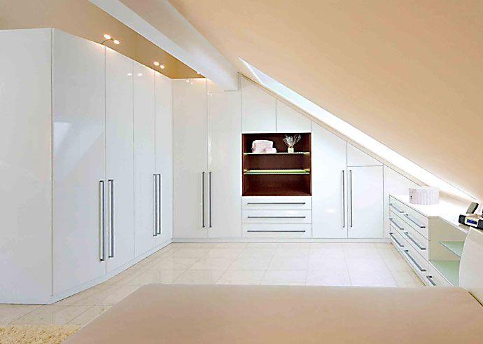 Einrichtungen für Mansarden und Dachschrägen Urbana Möbel