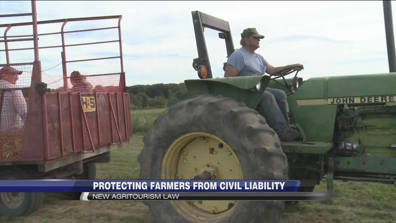 New Agritourism Law Protects Farmers Against Civil Liability