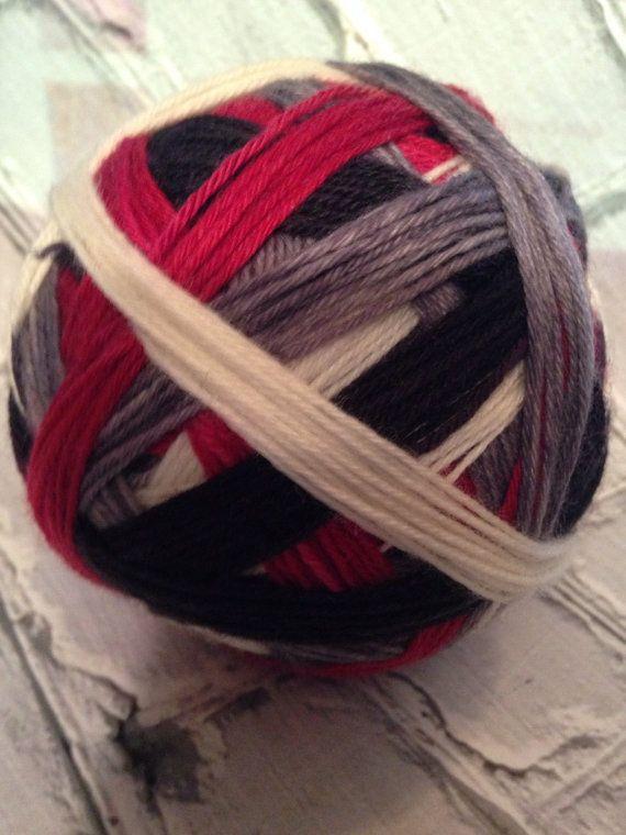 Killshot hunger games inspired self striping yarn