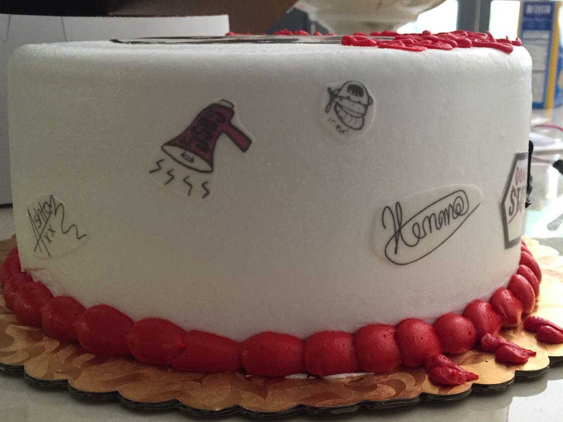Happy Birthday Luke Cake Brithday Cake