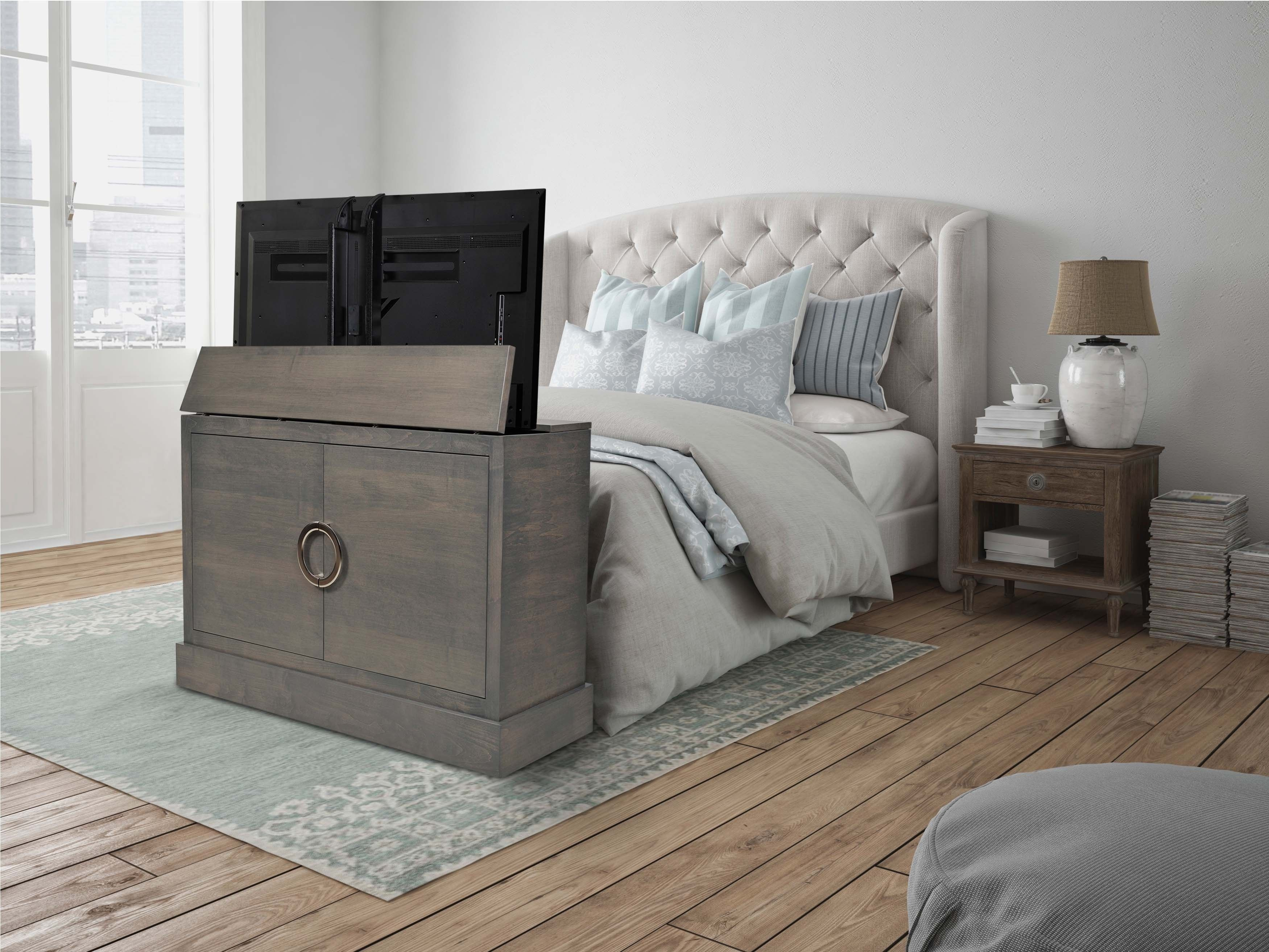 Clubside in Grey Finish TV Lift in 2020 Bed