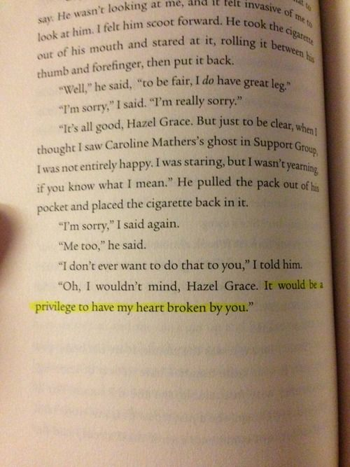 The Fault in Our Stars is part of The fault in our stars -