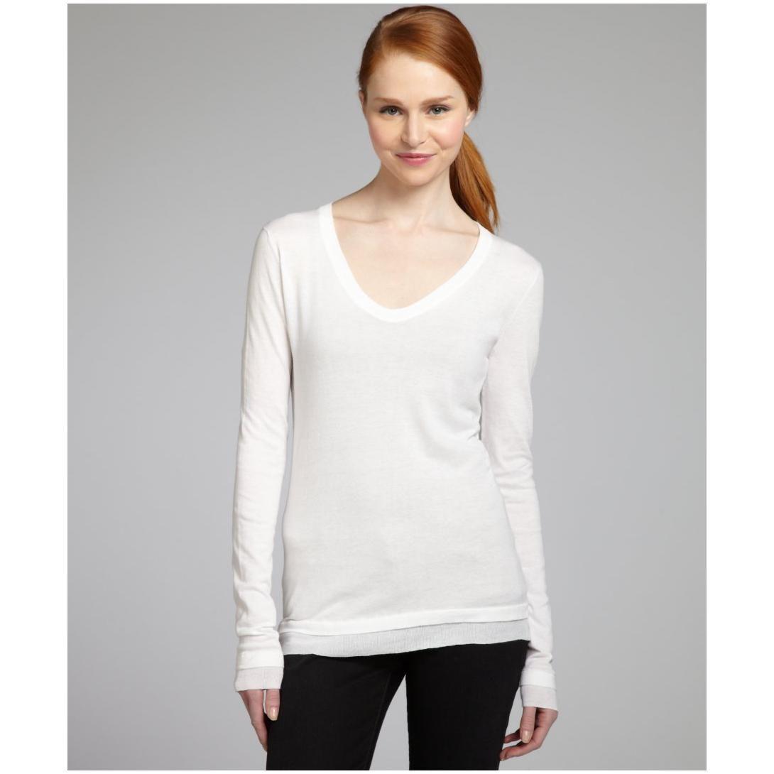 Women White Sweater