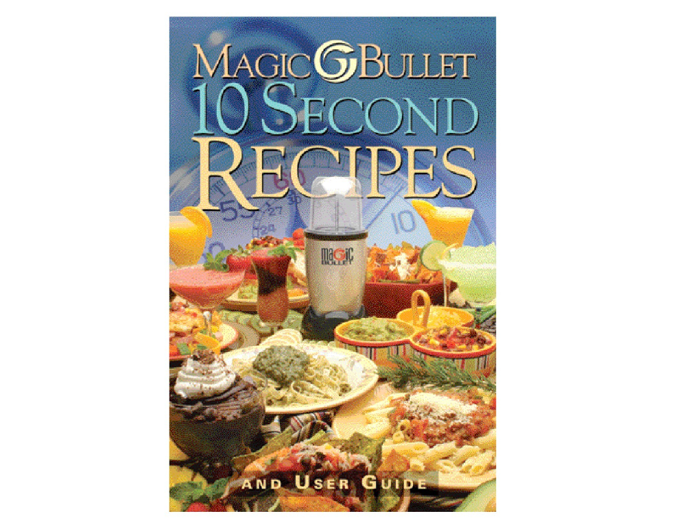 Magic Bullet Recipe Book And User Manual In Pdf Format Magic Bullet Recipes Magic Bullet Recipe Book