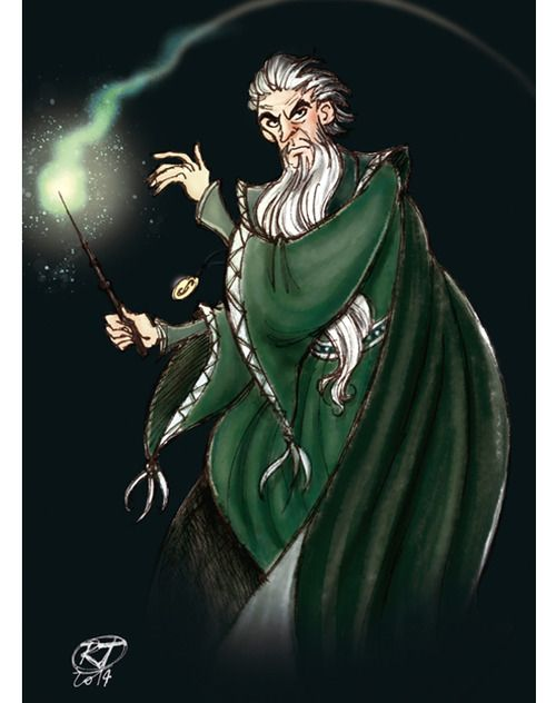 Salazar Slytherin by Roby