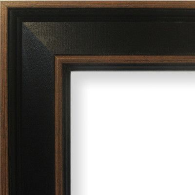 craig frames inc 2 wide painted wood grain picture frame size 19