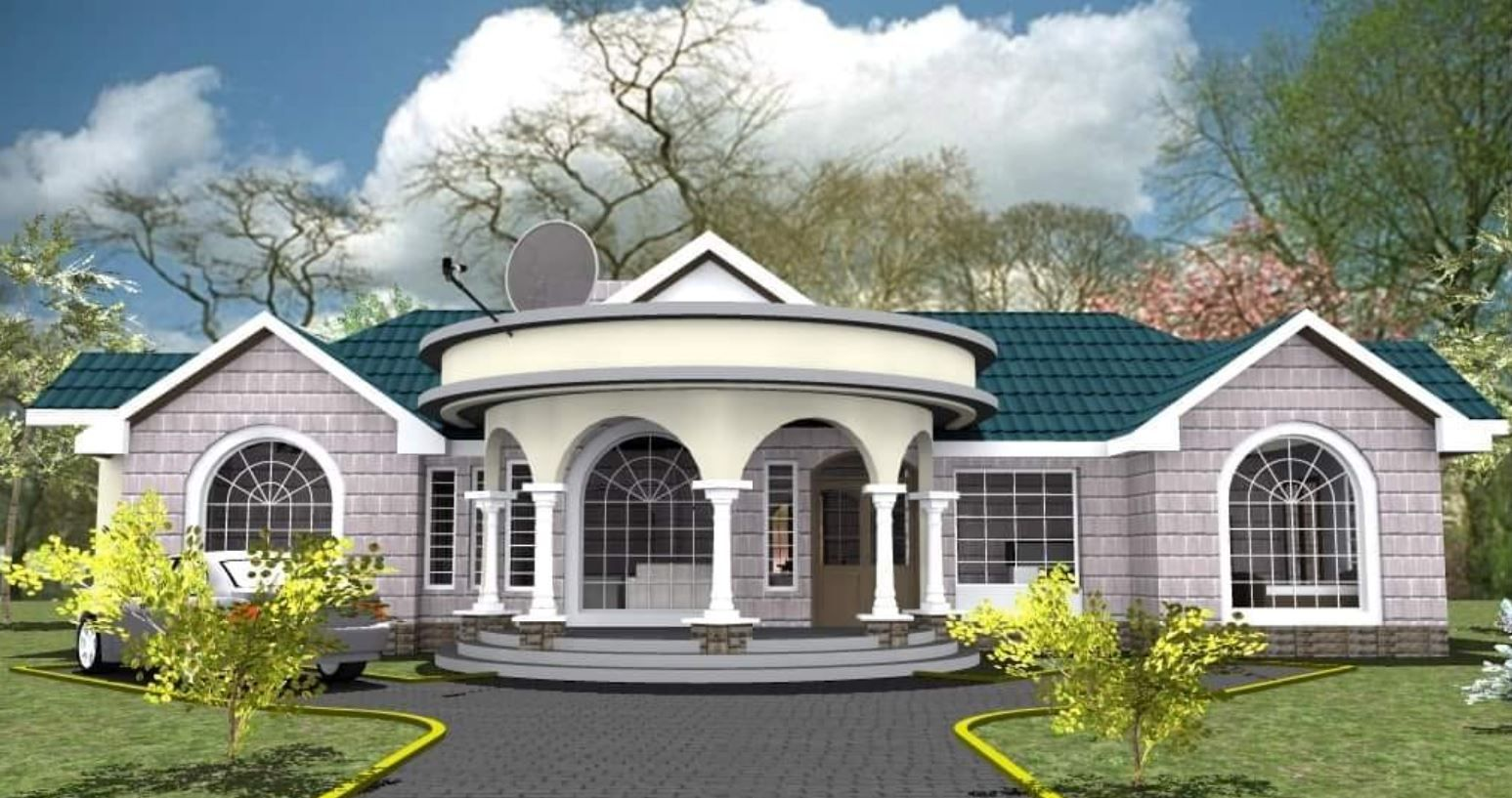 Where To Buy And Sell Modern House Designs In Kenya House Designs In Kenya Modern Bungalow House Design House Design Pictures