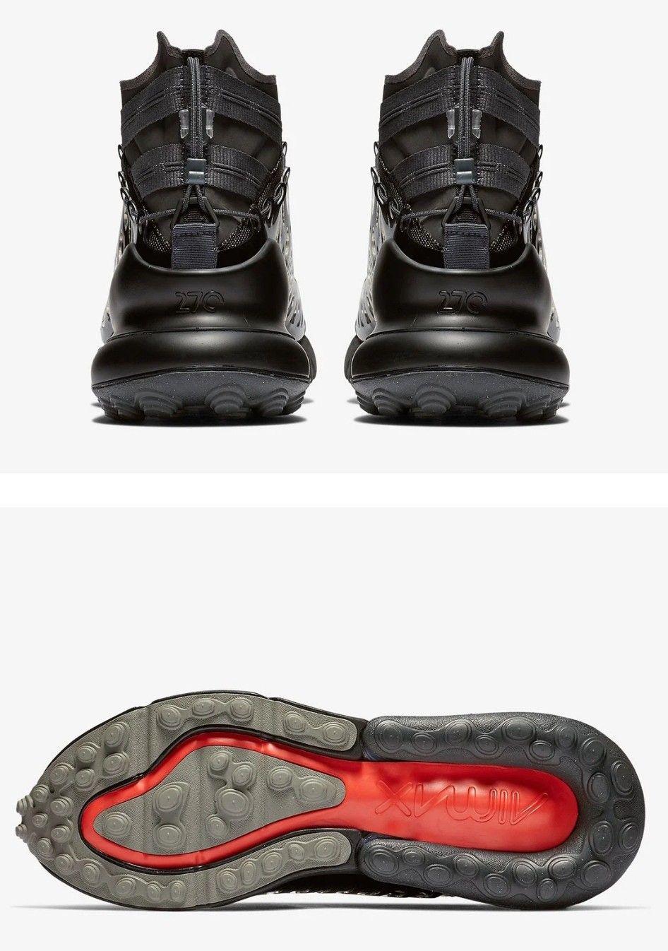 Nike ISPA Air Max 270 SP SOE Color: BlackAnthracite | Boots