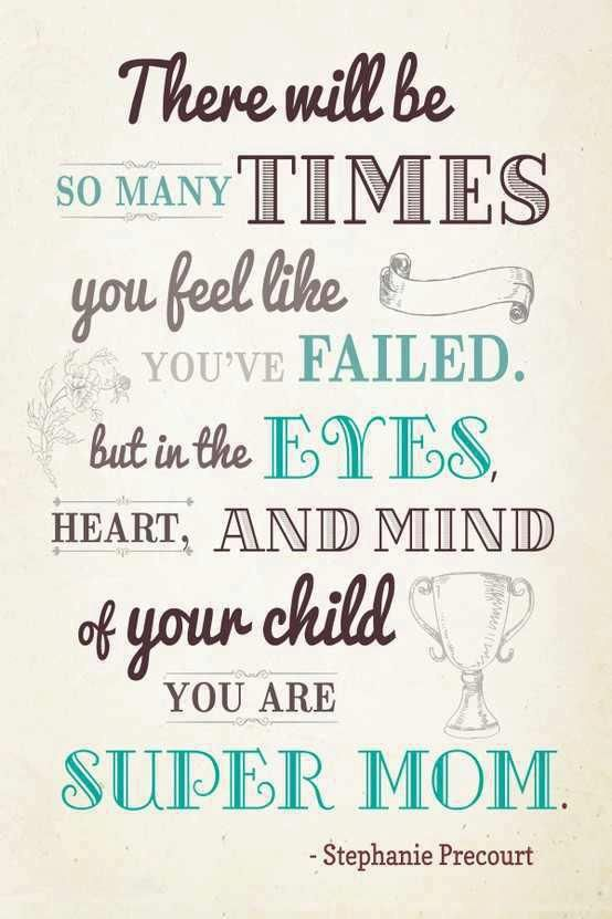 Super Mom Hard Quotes Mom Quotes Words