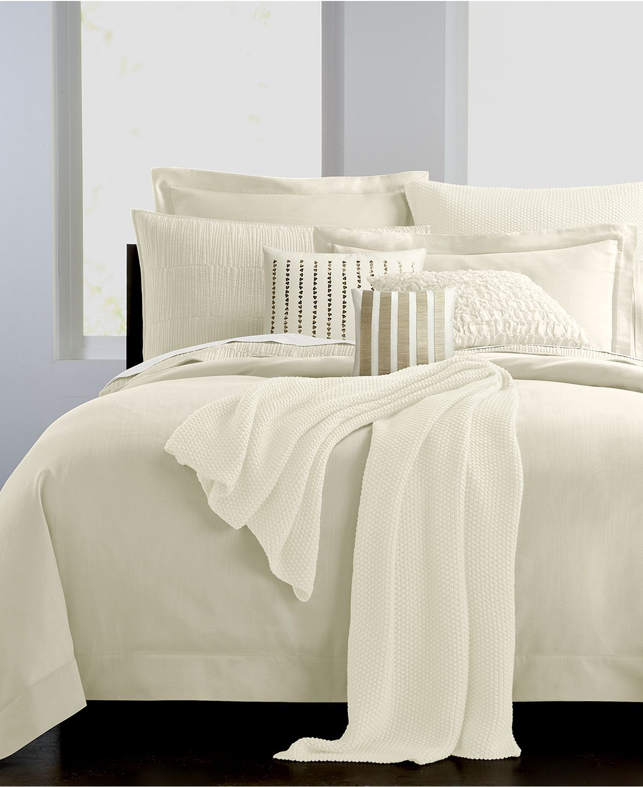 Master Bedroom Bedding Collections Donna Karan Essentials Bedding Urban Oasis Ivory Collection