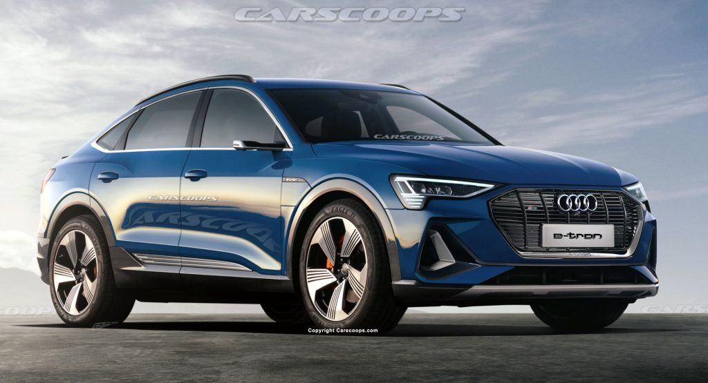 2020 Audi E Tron Sportback We Uncover The New Electric Coupe Suv Audi E Tron Suv E Tron