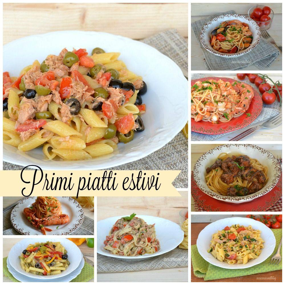 Ricette primi piatti estivi primi piatti freddi pasta for Ricette italiane primi piatti