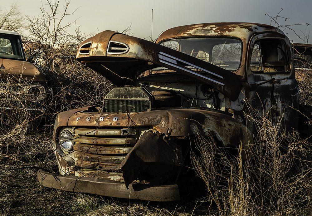 Hunter's Corner Salvage Yard Old Truck Old trucks
