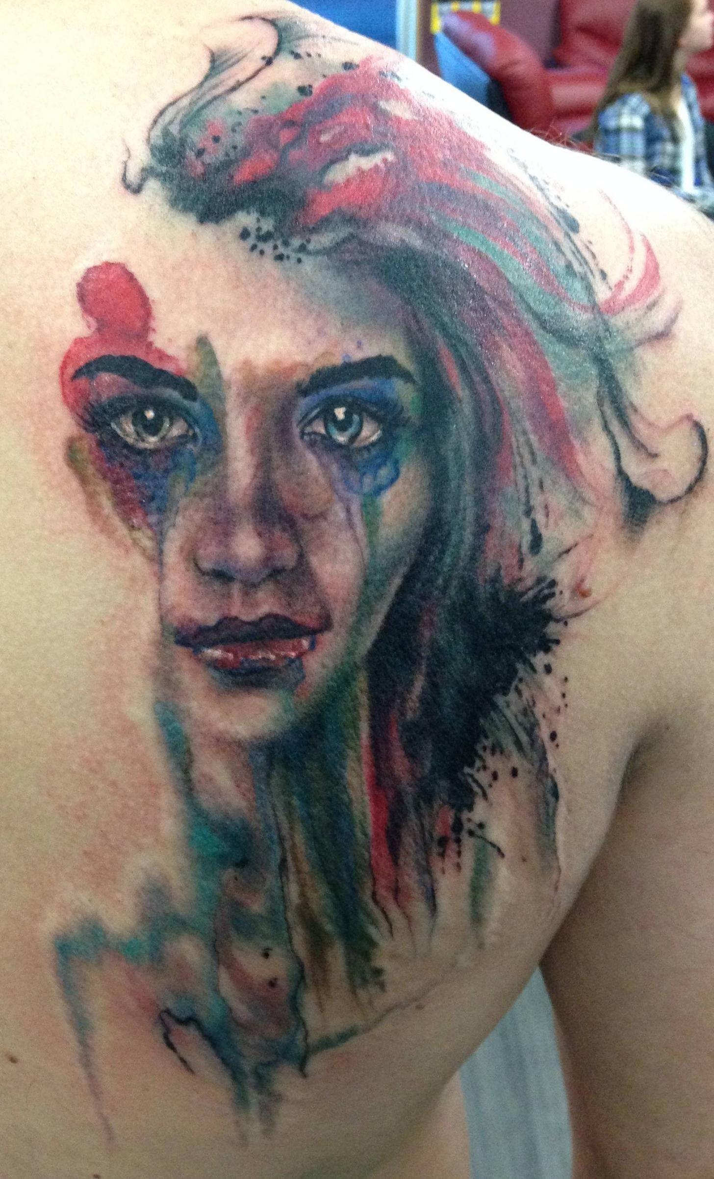 My delerium tattoo by brian ulibarri denver co