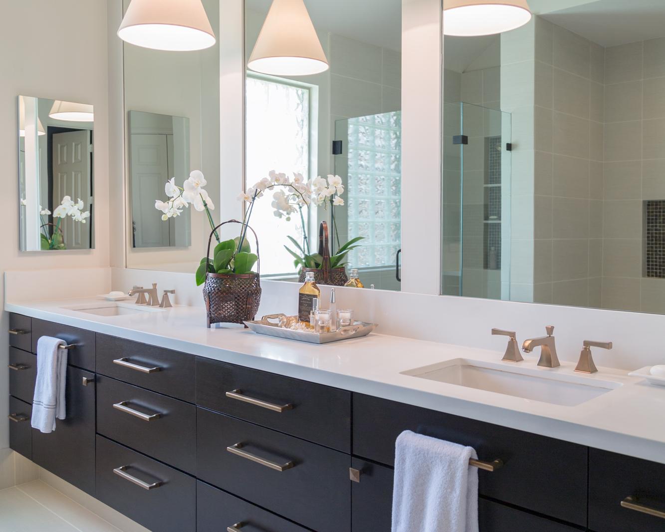BEFORE & AFTER: A Master Bathroom Remodel Surprises ...