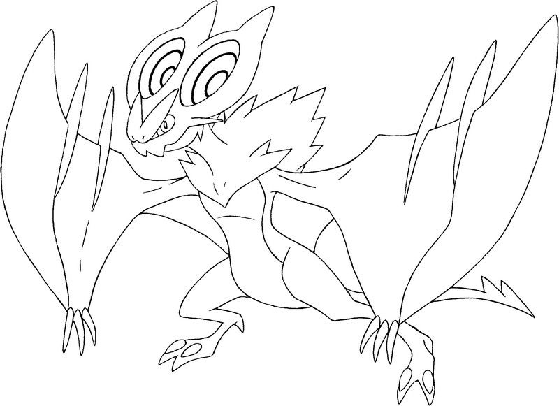 Pokemon Noivern Coloring Pages Pokemon Coloring Pages Coloring Pages Pokemon Coloring