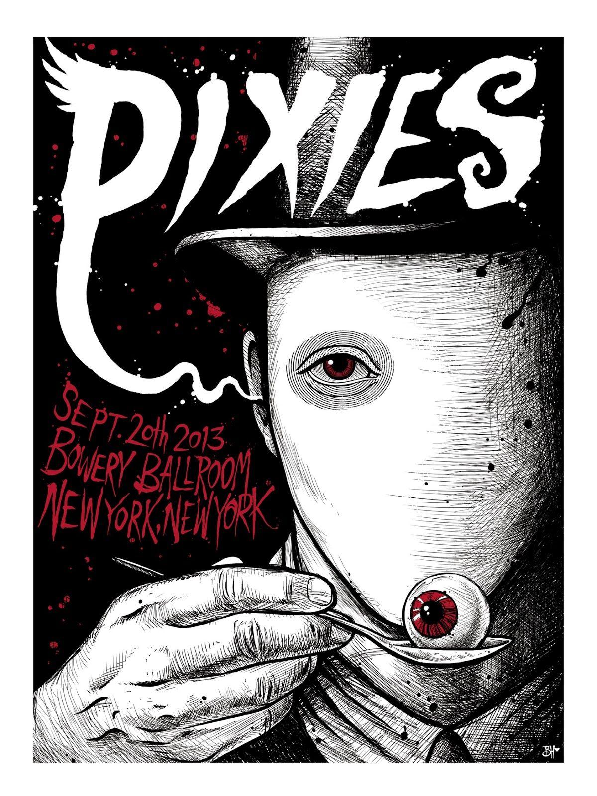 Pixies New York | Music | Pinterest | Plakate und Bilder