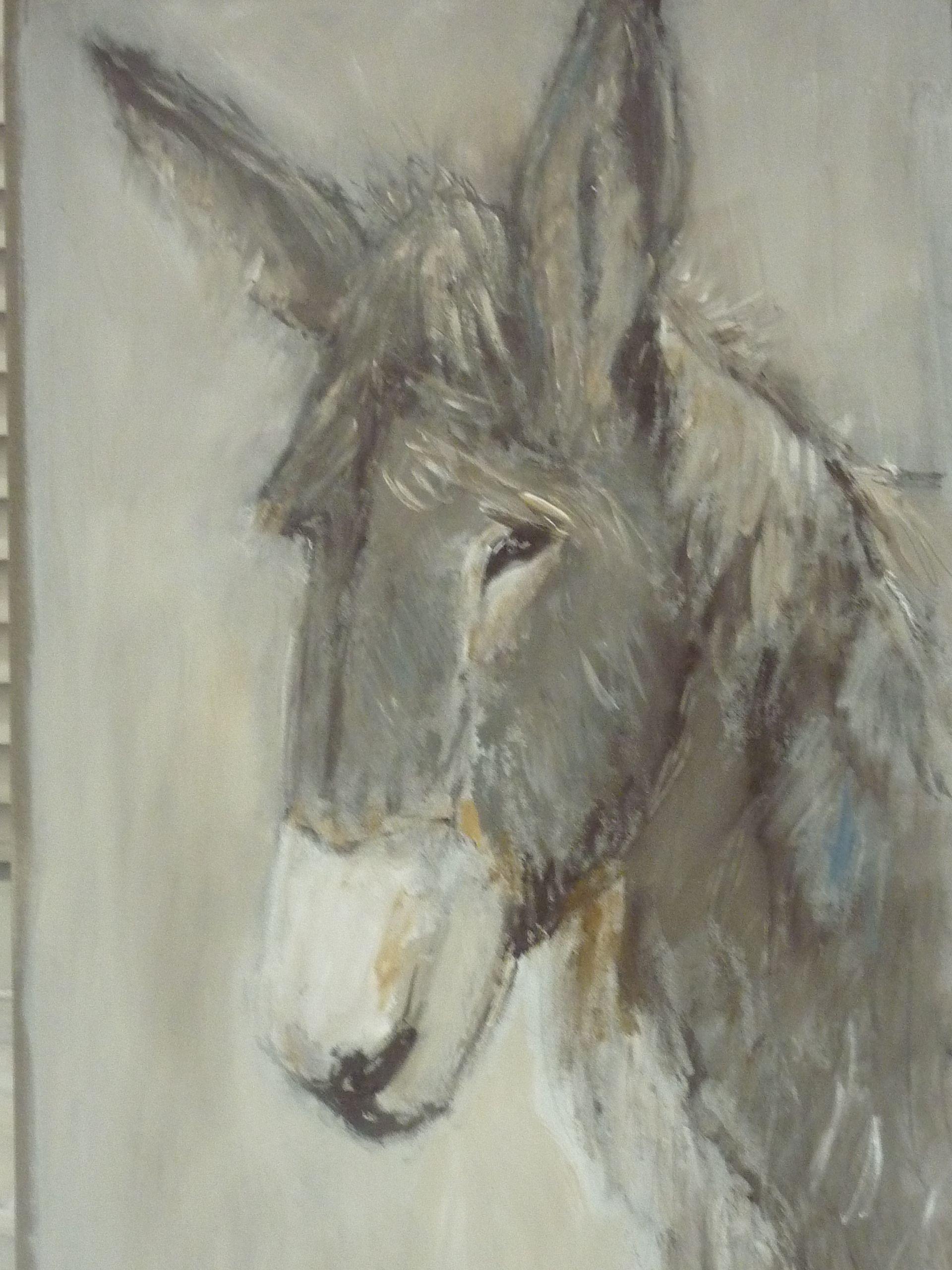 N 43 Ane 120 60 Peintures Animalieres Peinture Dessin