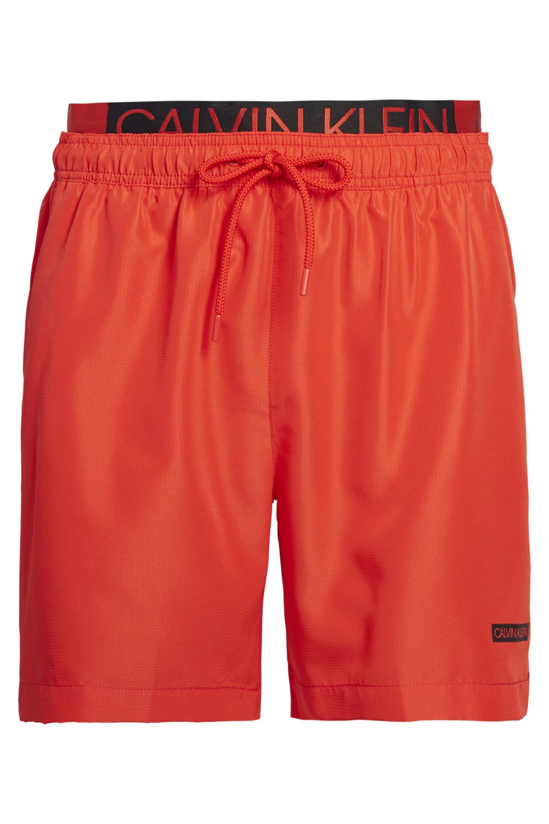 d95dad2e03 Mens Calvin Klein Double Waistband Swim Short - Red in 2019 ...