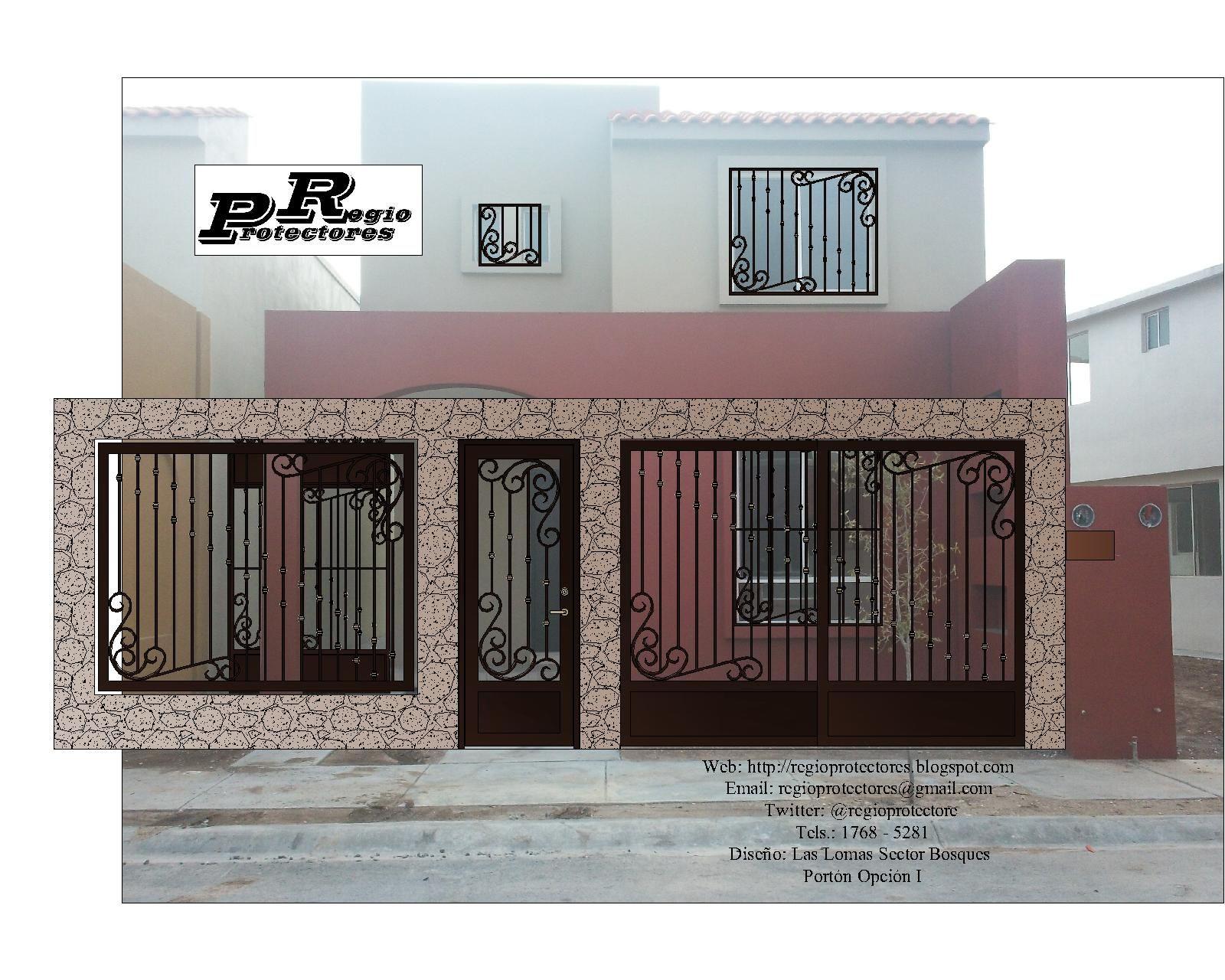Frentes casas rejas para ventanas edificios pictures page for Modelos de frentes de casas