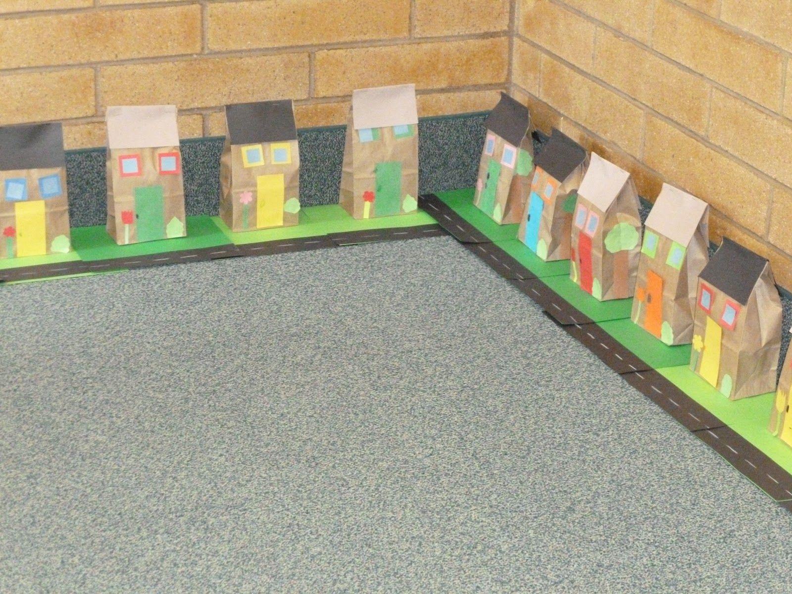 Neighborhood project creative ideas for kids kindergarten social