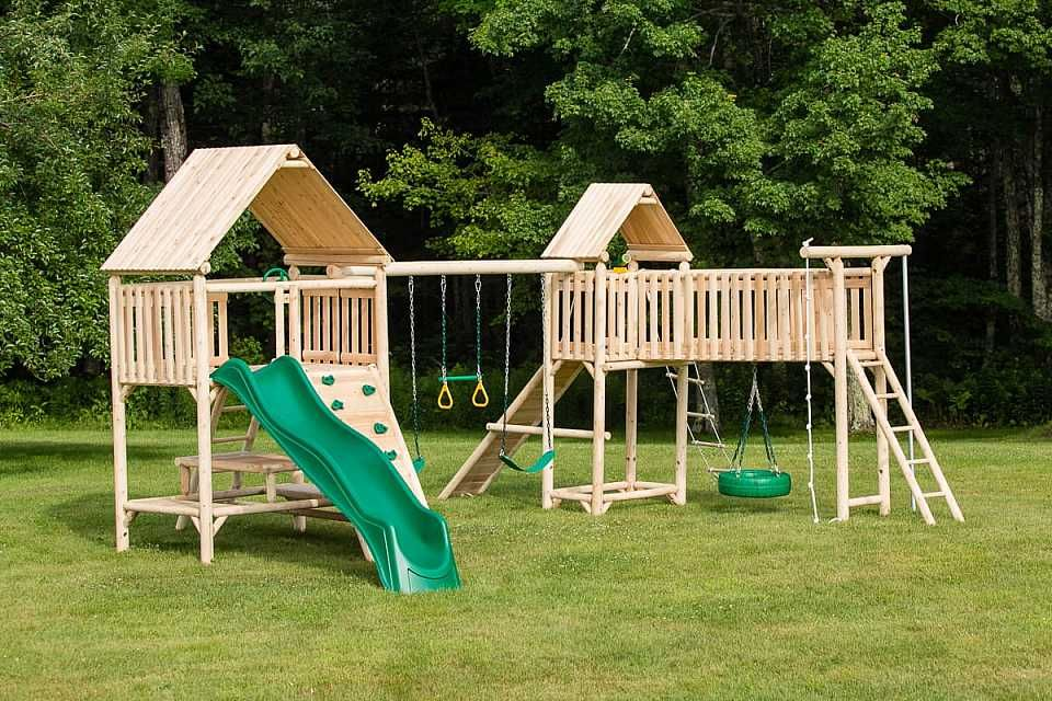 New Cedarworks Modern Outdoor Playsets Buymodernbaby Com Playset Outdoor Backyard Playset Playhouse Outdoor