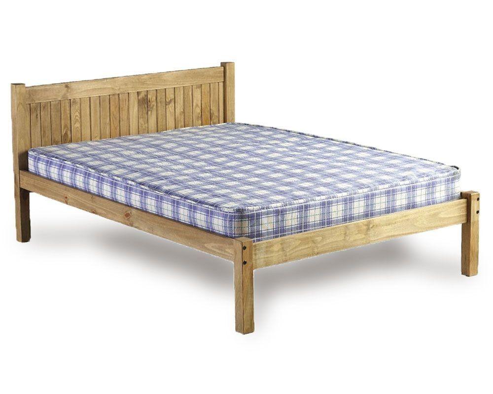 Mayan Three Quarter 3 4 Bed Frame Panel Bed Frames Bed Frame