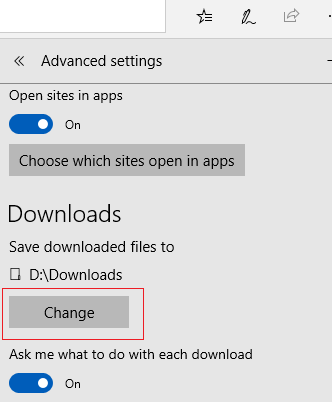 How to Change Your Default Download Location in Chrome, Edge, and Firefox 3