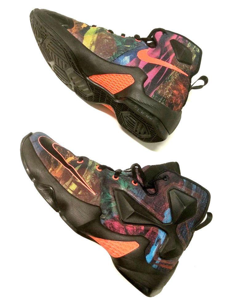 finest selection 9c6bd df564 Nike Zoom Lebron james 13 XIII Multicolor 330 Young Boys sneakers Shoe size  5.5  Nike  BasketballShoes