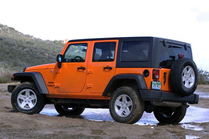 orange 4-door jeep - Google Search | What If..... | Pinterest ...