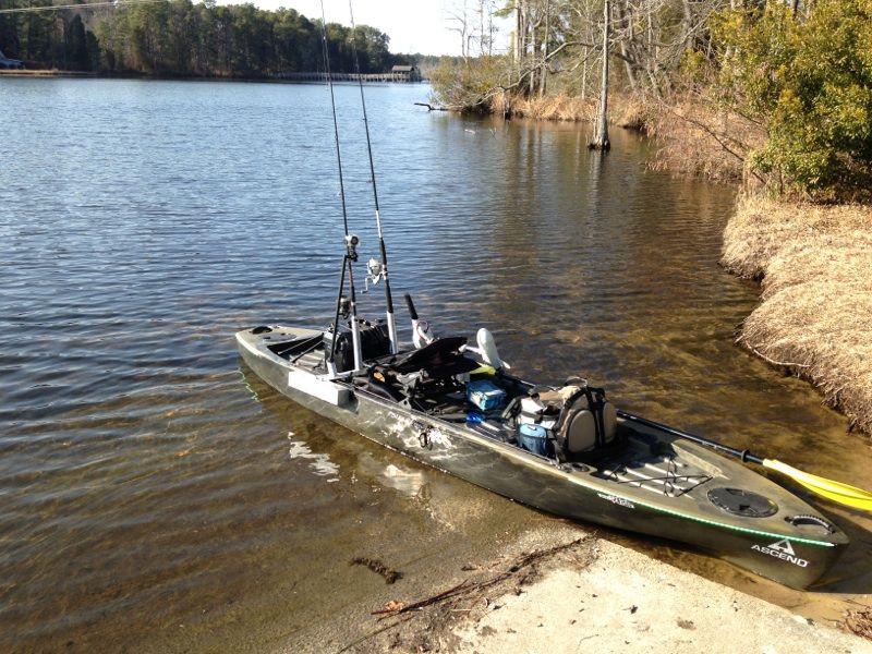 Ascend Fs128t Kayak Fishing Pinterest Kayak Boats