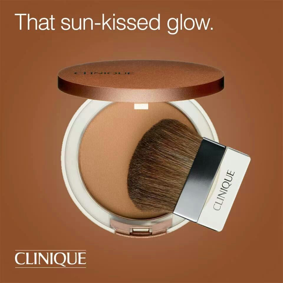 Clinique Sunkissed Bronzer. Gives you a natural sunkissed glow <3 ...