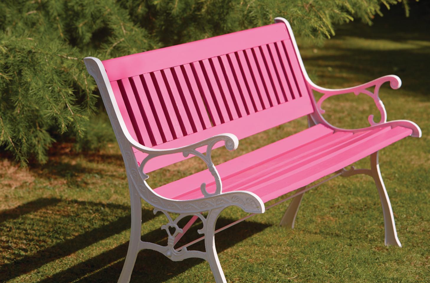 Ronseal Garden Paint: Pink Jasmine | Painted garden ...