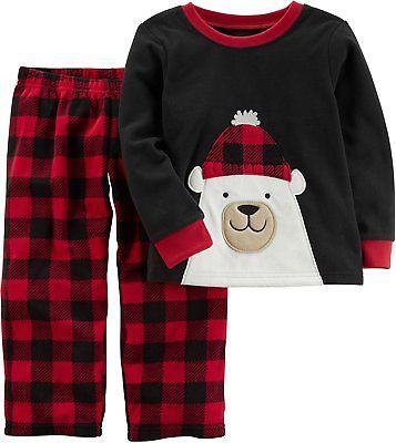 b67ea6c31936 Sleepwear 147336  Carter S Boys 12 Month-14 2-Piece Christmas Fleece ...