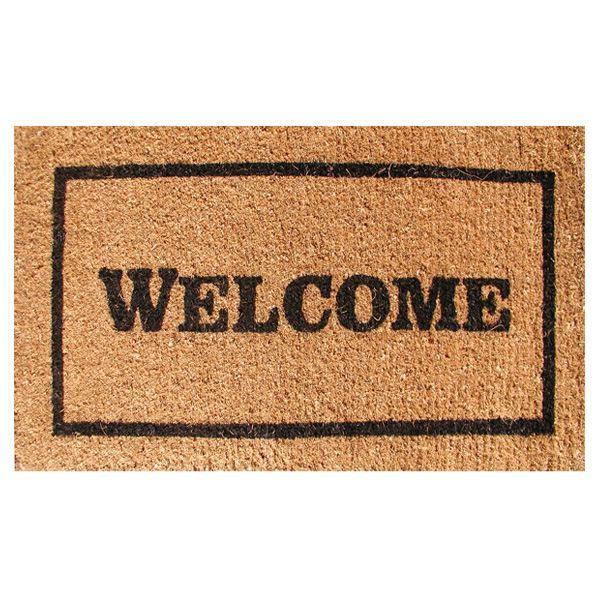 Imports Decor Inc Welcome Greek Key Doormat In Door Mats