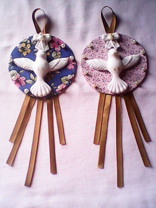 Ideas Con Mis Moldes Paloma Porcelana Fria Souvenir