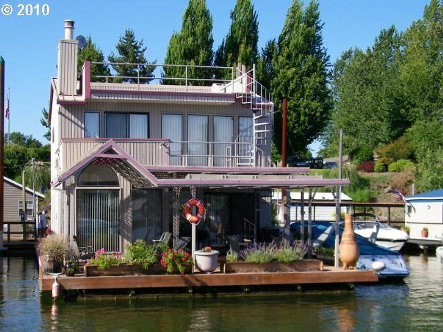 Floating Homes House Boats Jane Betts Stover Realtor Portland