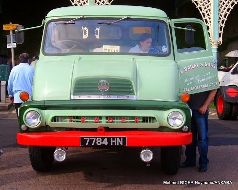 Ford Thames Trader | Trucks | Pinterest | Ford, Commercial vehicle ...