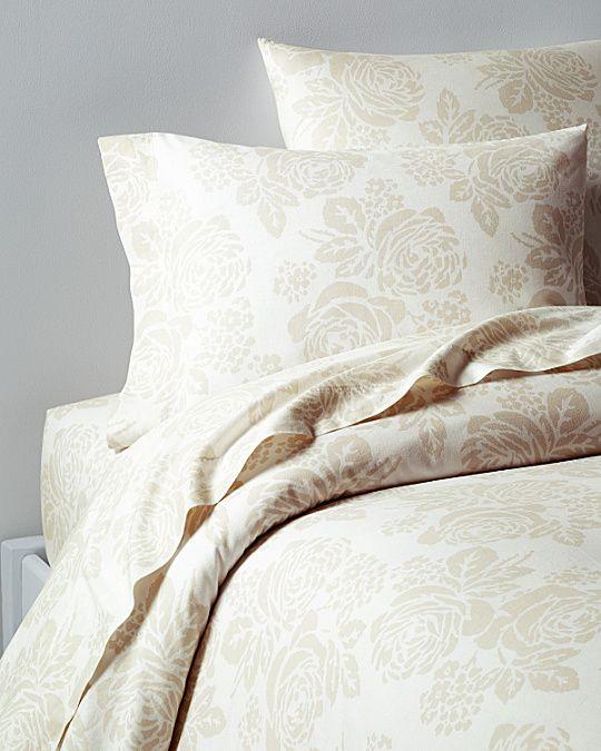Swedish Farmhouse Washed Linen Cotton Bedding Garnet Hill Bed Linens Luxury Bed Cotton Bedding