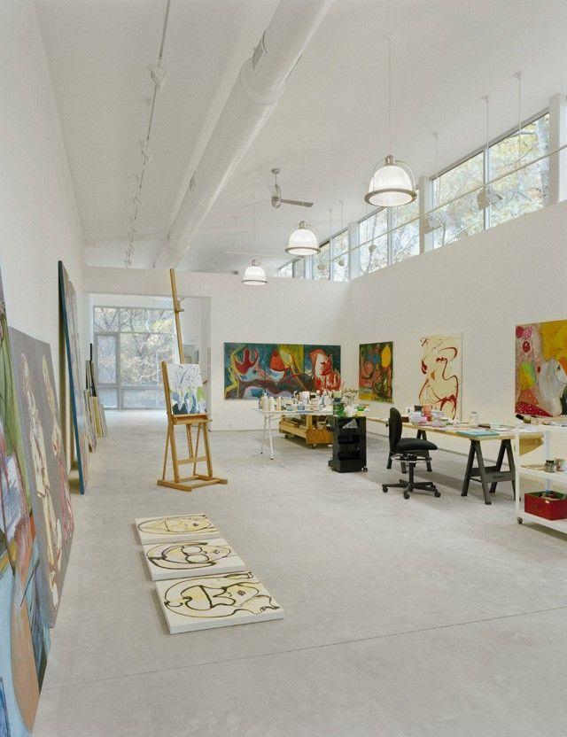 Modern Architecture Artists artists' studios | artist studios, studio and art studios