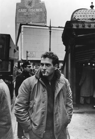 James Dean And Paul Newman Sporting The N1 Jacket Back In 1955