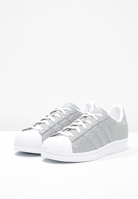 adidas Originals SUPERSTAR Sneaker low silver metallic